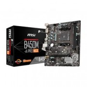 MSI MICROSTAR MB MSI B450M-A PRO MAX AM4 RYZEN 2D 6S3 1M.2 6U3 PCIE GBLAN D/H RAID