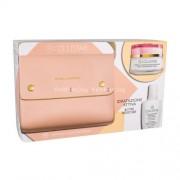 Collistar Deep Moisturizing Cream Kit 50ml за Жени - дневна грижа 50 ml + продукт за почистване Cleansing Make-Up Remover Micellar Water 50 ml + чантичка За дълбока хидратация на кожата