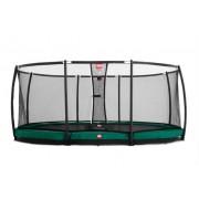 Studsmatta BERG InGround Grand Champion oval 380x515 Airflow + skyddsnät Deluxe