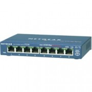 Суич Netgear FS108-300PES, 8 x 10/100 ProSafe switch, external power supply, 8 порта