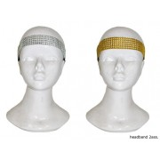 Bentita de cap cu paiete argintie/aurie - Cod 53714