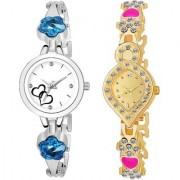 TRUE CHOICE NEW BRANDED LOOK AND SUPER SMART 219 COMBO WATCH FOR WOMEN AND GIRL WITH 6 MONTH WARRNTY