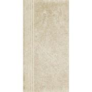 Paradyż Flash bianco półpoler stopnica 30x60