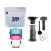 Filter kávés csomag keepcup al, aeropress el