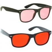 Phenomenal Wayfarer Sunglasses(Pink, Red)