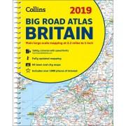 Wegenatlas - Britain Big Road Atlas 2019 | Collins