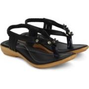 Jayn Martin Women Bold Black Heels