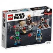 Конструктор Лего Стар Уорс - Боен пакет Mandalorian - LEGO Star Wars, 75267
