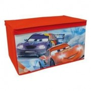 Cars Coffre A Jouets Souple Ice Racing