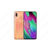 Samsung Galaxy A40 64GB Dual SIM A405, coral, Gyártói garancia