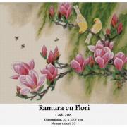 Ramura cu flori (kit goblen)