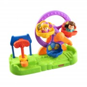 Set de joaca Little People Ferris Wheel cu sunete, Fisher-Price