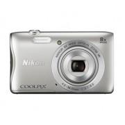 Digitalni foto-aparat Nikon S3700, Srebrni SET (sa poklon torbicom S-serije)
