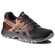 Asics Buty ASICS - Gel-Sonoma 3 T724N Black/Shocking Orange 001