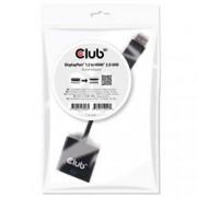 CLUB3D DISPLAYPORT 1.2 MALE - HDMI 2.0 FEMALE 4K 60HZ