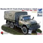 Russian Zil-131 Truck (Early Version) with Winch 1/35 Military Model Kit