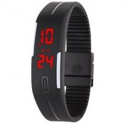 fast selling Robotic Magnetic LED Watch
