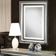Oglinda decorativa cu iluminat LED 120x80cm BERLIN 474359