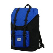 Herschel Sac à dos Herschel Little America Mid Volume Black/Surf the Web/Black Rubber noir