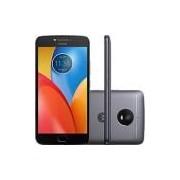 Smartphone Motorola Moto E4 Plus Dual Chip Android 7.1.1 Nougat Tela 5,5 Quad-Core 1.3GHz 16GB 4G Câmera 13MP - Titanium