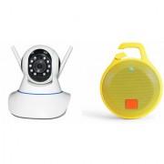Mirza Wifi CCTV Camera and Clip Bluetooth Speaker for SONY xperia u.(Wifi CCTV Camera with night vision |Clip Bluetooth Speaker)