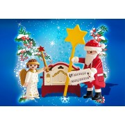 Playmobil 4889 Aniołek ze Świętym Mikołajem i katarynką