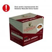 Garibaldi Dolce Aroma capsule compatibile Nescafe 16 buc