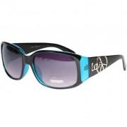 Peace & Love - blå solglasögon som liknar Juicy