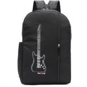 LeeRooy Canvas 20 Liter Black 17-Inch Laptop Backpack-r-11