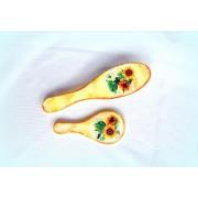Set perie si oglinda cu floarea soarelui 1045