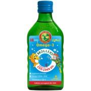 Omega-3 Ulei din Ficat de Cod Lichid Original - Tutti Frutti - 250 ml