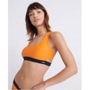 Superdry Kurzes Bora Bikinioberteil 38 orange
