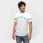 Camiseta New Era MLB Nac Stripes Team 1 Brooklyn Dodgers - Masculino