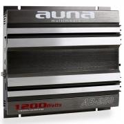Auna Amplificator de mașină AB-250 1200 Watt 2-Canale (W2-AB-250)