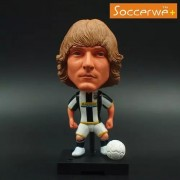 """Pi² Football Star Soccer Player 11# Pavel Nedved (Juventus 2009) 2.5"""" Movable Action Figure"""
