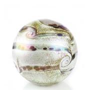 Medium Glazen Bal Dieren Urn Elan Ivory (1.5 liter)