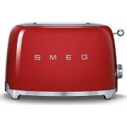 Smeg TSF01RDUK 50's Retro Style 2 Slice Toaster - Red