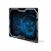Mousepad Spirit of Gamer - SMOKEY SKULL Blue (430 x 320 x 3mm; albastru)