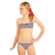 LITEX Dívčí plavky podprsenka BANDEAU. 52583 140