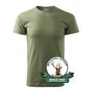 Tricou verde military