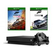 Consola Microsoft Xbox One X 1TB + Forza Horizon 4 + Forza Motorsport 7