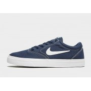 Nike SB Charge Canvas Heren - Navy/White