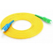 100 Meter Simplex SC to SC Fiber Cable / Single Mode 3mm, Fiber Drop Cable G.657.A1 Spec 9/125um