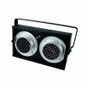 EuroLite Audience Blinder 2xPAR36, DMX negro