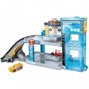 Disney Cars 3- Circuito Florida 500 Para Coches De Juguete Mattel
