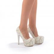 Pantofi de mireasa Bianca (Marime: 38 EU)