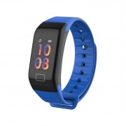 LEMONDA P1 0.96-inch Color Screen Sport Wristband with Blood Pressure Tracker - Blue
