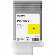 CARTUS YELLOW PFI-107Y 130ML ORIGINAL CANON IPF 680