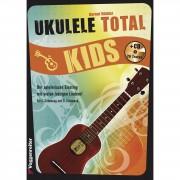 Voggenreiter Ukulele Total Kids C und D-Stimmung, Buch/CD