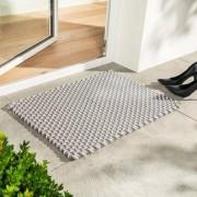 Pad home Design Pool Outdoor Teppich, 52 x 72 cm, beige-weiss